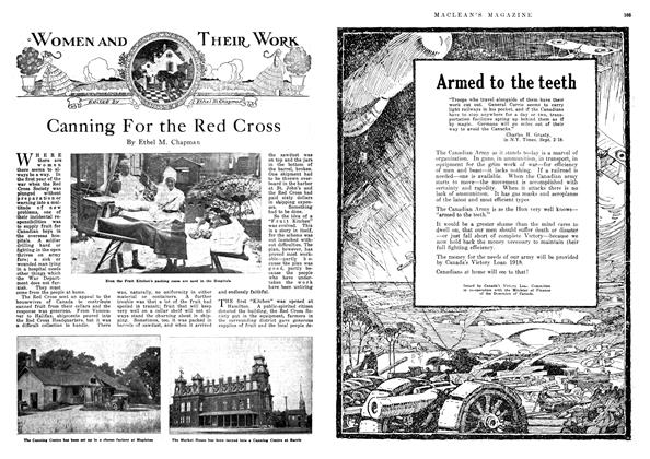 Article Preview: Canning For the Red Cross, November 1918 | Maclean's