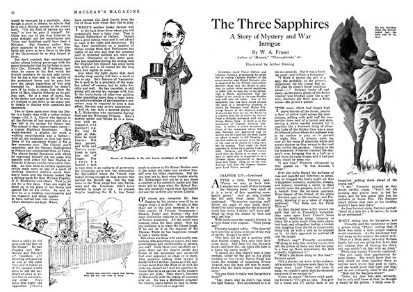 Article Preview: The Three Sapphires, December 1918 | Maclean's
