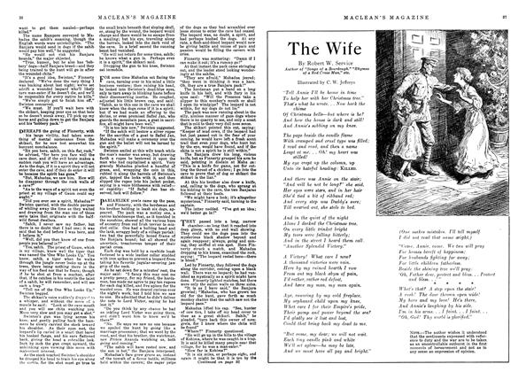 Article Preview: The Wife, December 1918 | Maclean's