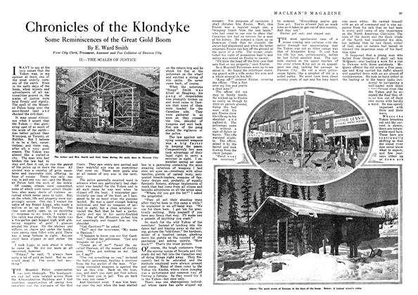 Article Preview: Chronicles of the Klondyke, December 1918 | Maclean's