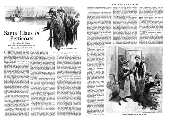 Article Preview: Santa Claus in Petticoats, December 1918 | Maclean's