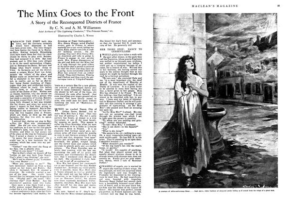 Article Preview: The Minx Goes to the Front, December 1918 | Maclean's