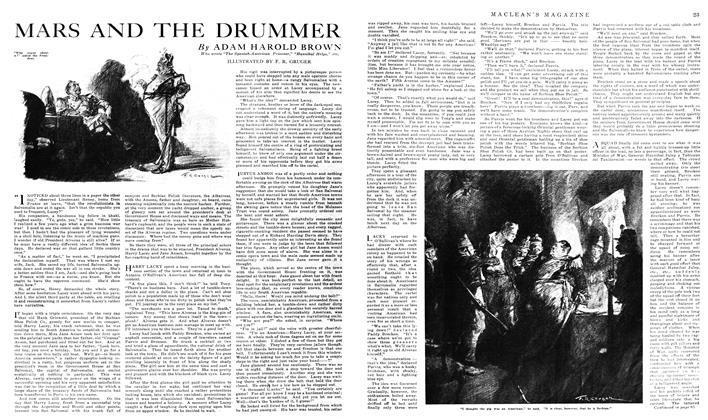 Article Preview: MARS AND THE DRUMMER, January 1919 | Maclean's