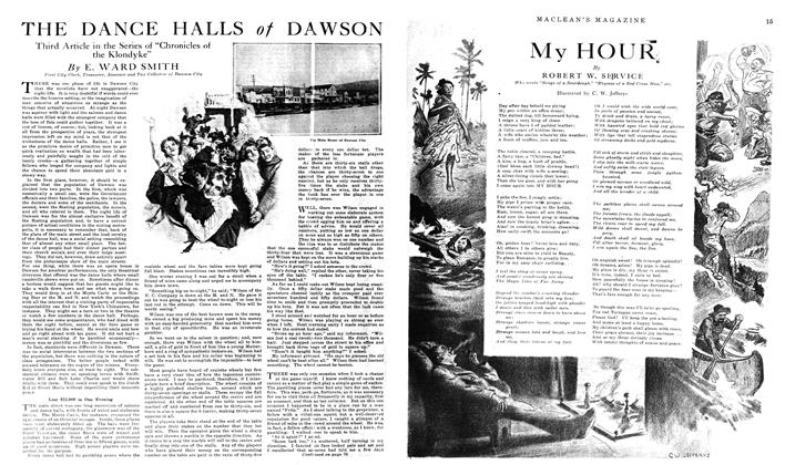 Article Preview: THE DANCE HALLS of DAWSON, January 1919 | Maclean's