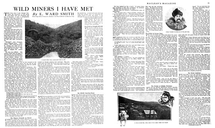Article Preview: WILD MINERS I HAVE MET, February 1919 | Maclean's