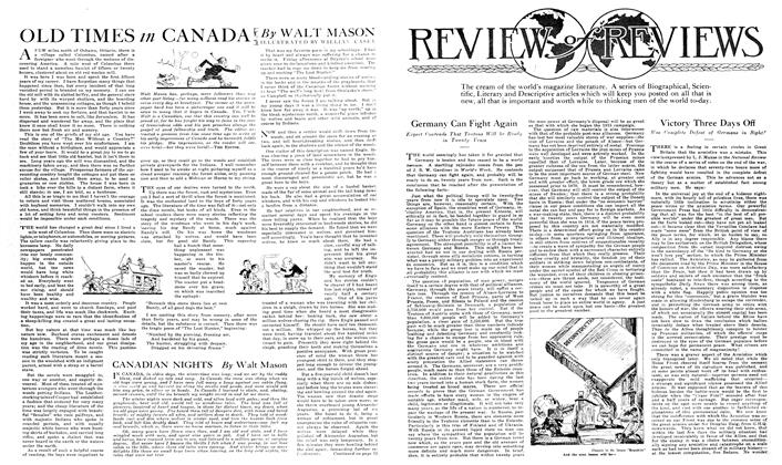 Article Preview: OLD TIMES in CANADA, February 1919 | Maclean's
