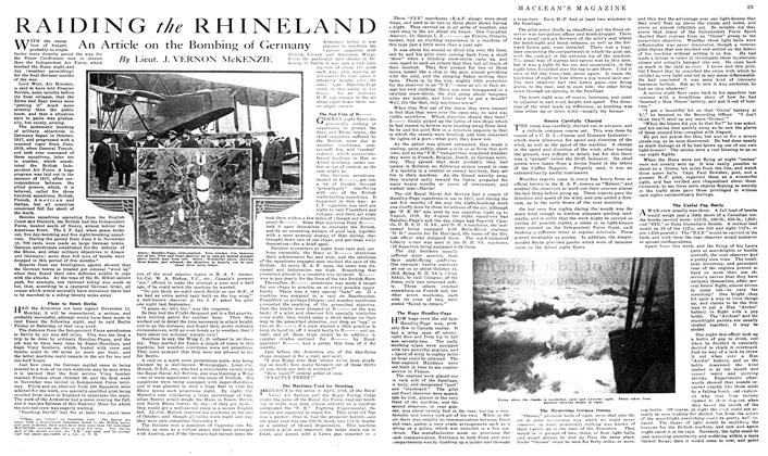 Article Preview: RAIDING the RHINELAND, March 1919 | Maclean's