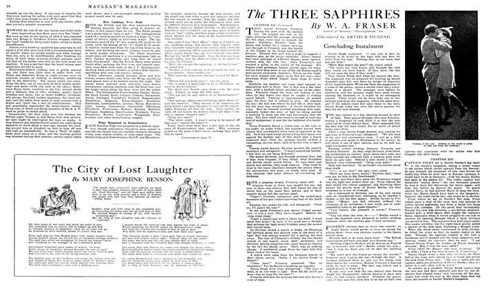 Article Preview: The THREE SAPPHIRES, March 1919 | Maclean's