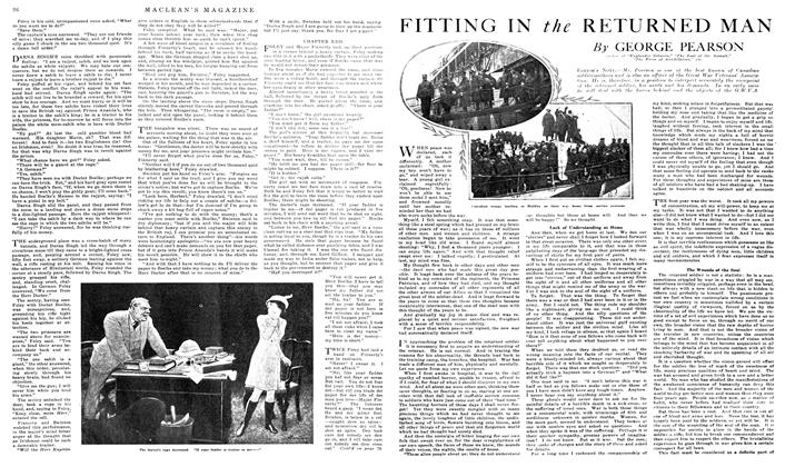 Article Preview: FITTING IN the RETURNED MAN, March 1919 | Maclean's