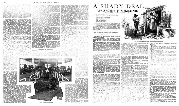 Article Preview: A SHADY DEAL, March 1919 | Maclean's