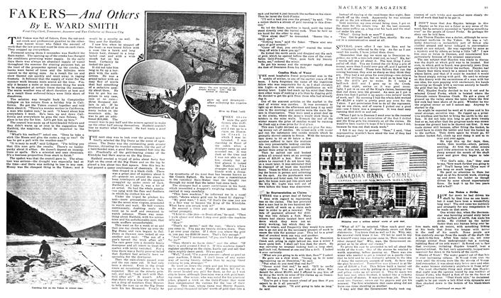 Article Preview: FAKERS—And Others, March 1919 | Maclean's