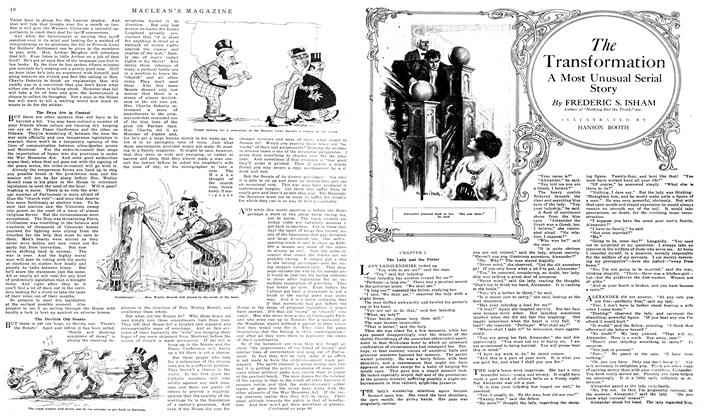 Article Preview: The Transformation, March 1919   Maclean's