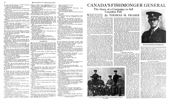 Article Preview: CANADA'S FISHMONGER GENERAL, April 1919 | Maclean's