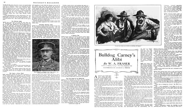 Article Preview: Bulldog Carney's Alibi, May 1919 | Maclean's