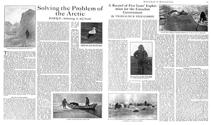 Article Preview: Solving the Problem of the Arctic, May 1919 | Maclean's