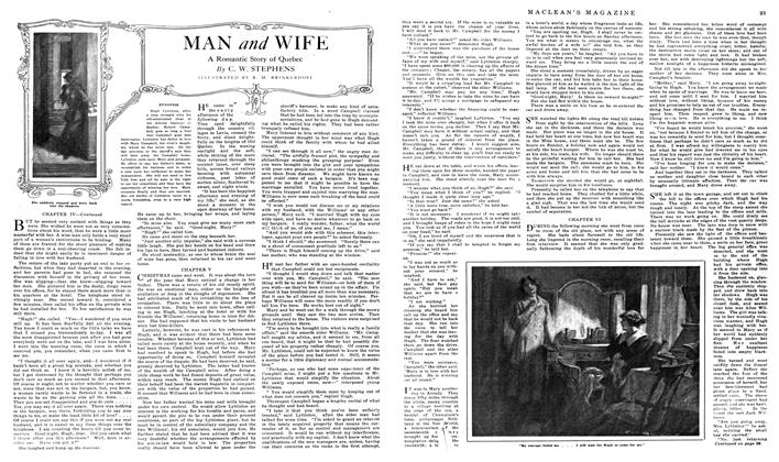 Article Preview: MAN and WIFE, May 1919 | Maclean's