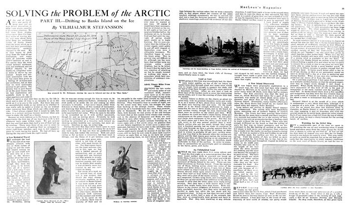 Article Preview: SOLVING the PROBLEM of the ARCTIC, June 1919 | Maclean's