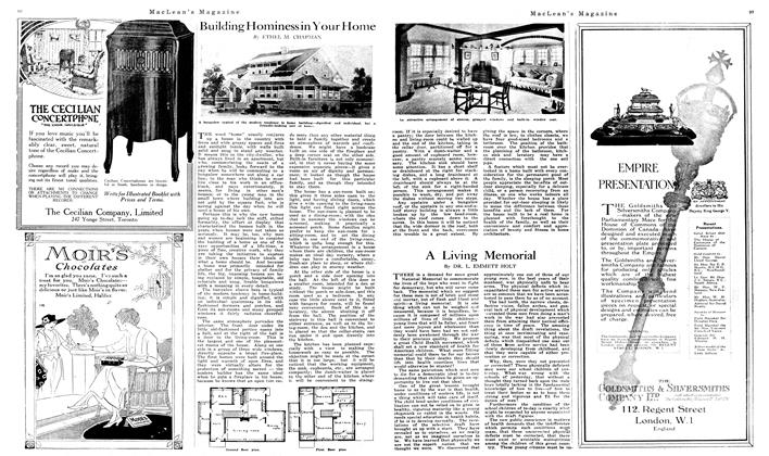 Article Preview: Building Hominess in Your Home, June 1919 | Maclean's