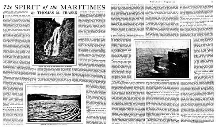 Article Preview: The SPIRIT of the MARITIMES, July 1919 | Maclean's