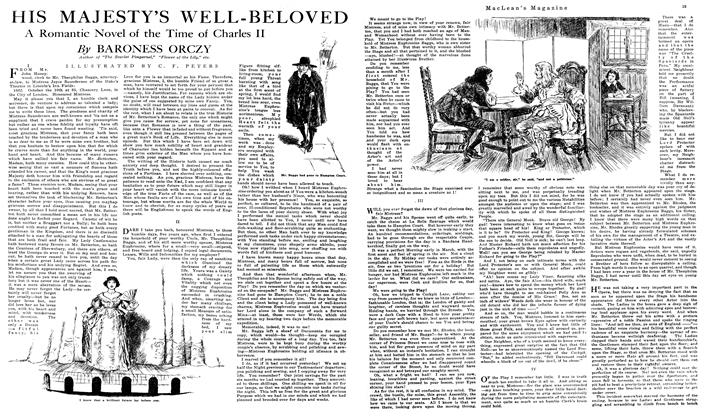 Article Preview: HIS MAJESTY'S WELL-BELOVED, July 1919 | Maclean's