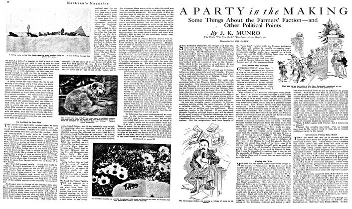 Article Preview: A PARTY in the MAKING, August 1919 | Maclean's