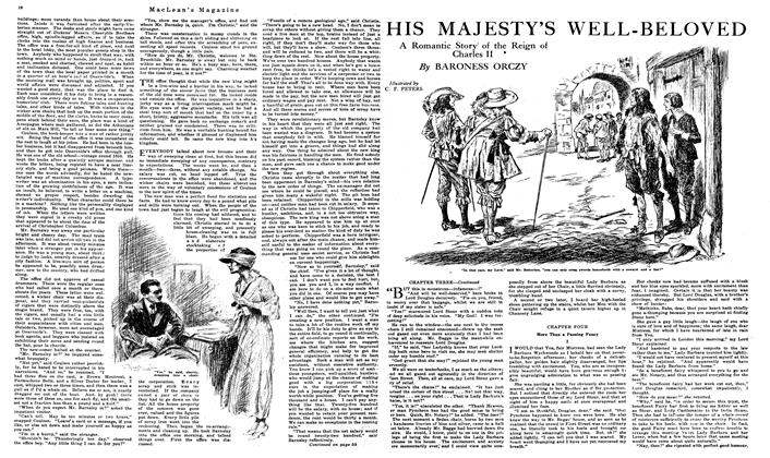 Article Preview: HIS MAJESTY'S WELL-BELOVED, August 1919 | Maclean's