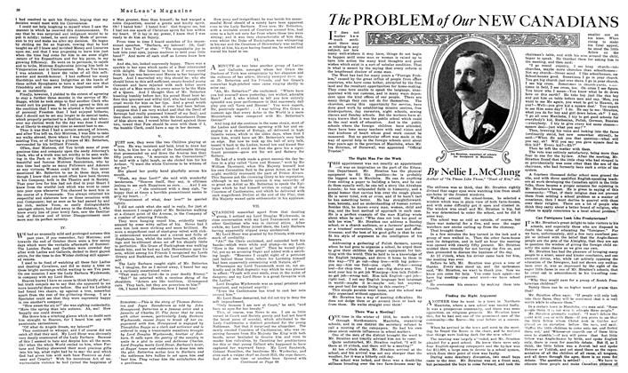 Article Preview: The PROBLEM of Our NEW CANADIANS, September 1919 | Maclean's