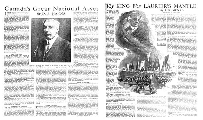 Article Preview: Why KING Won LAURIER'S MANTLE, September 1919 | Maclean's