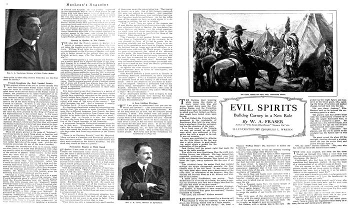 Article Preview: EVIL SPIRITS, September 1919 | Maclean's