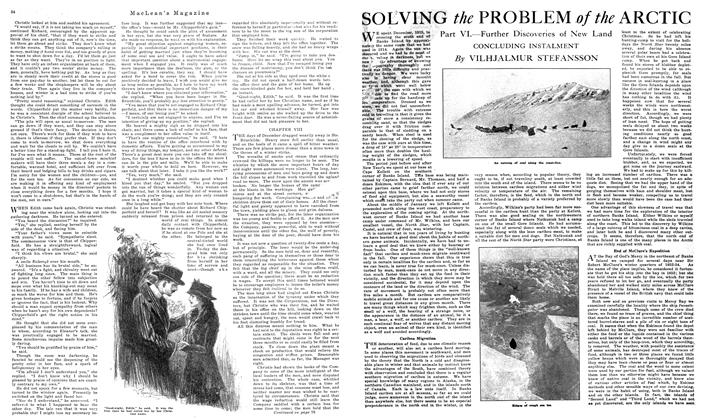 Article Preview: SOLVING the PROBLEM of the ARCTIC, October 1919 | Maclean's