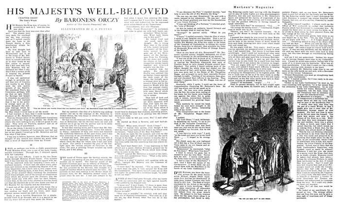 Article Preview: HIS MAJESTY'S WELL-BELOVED, October 1919 | Maclean's