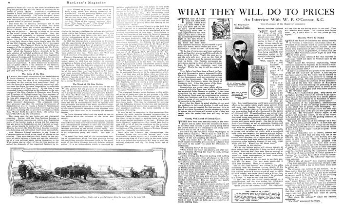 Article Preview: WHAT THEY WILL DO TO PRICES, October 1919 | Maclean's