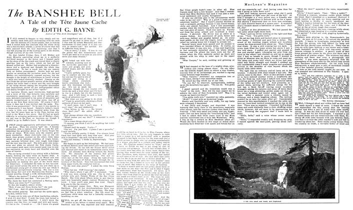 Article Preview: The BANSHEE BELL, October 1919 | Maclean's