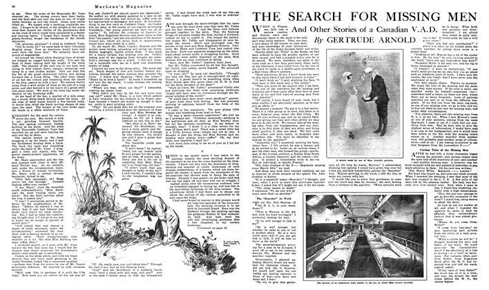 Article Preview: THE SEARCH FOR MISSING MEN, NOVEMBER 01,1919 1919 | Maclean's