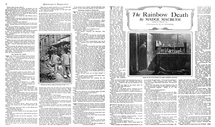 Article Preview: The Rainbow Death, NOVEMBER 01,1919 1919 | Maclean's