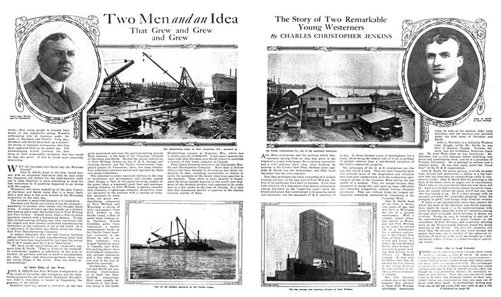 Article Preview: Two Men and an Idea That Grew and Grew and Grew, NOVEMBER 01,1919 1919 | Maclean's