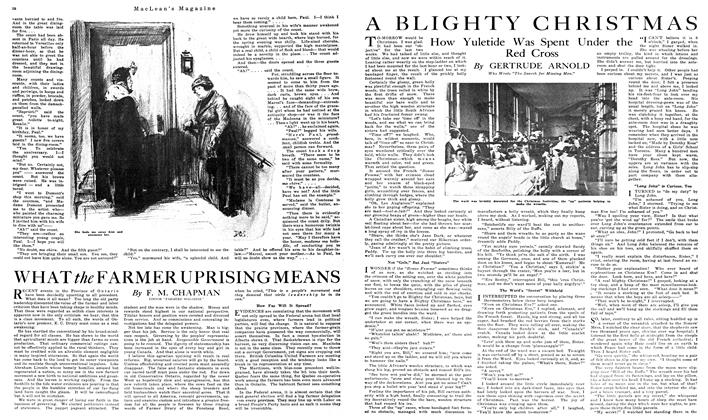 Article Preview: A BLIGHTY CHRISTMAS, December 1919 | Maclean's