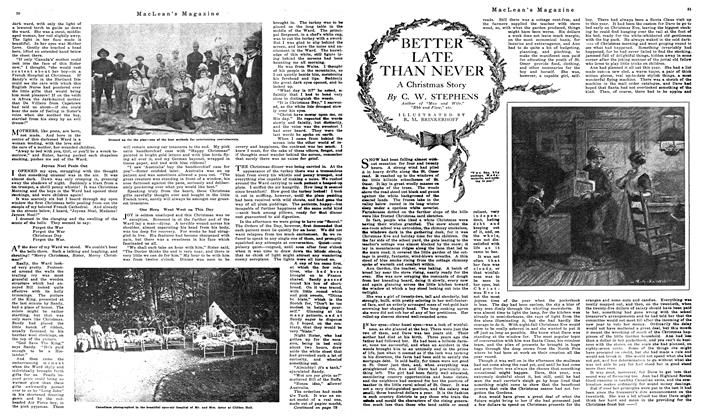 Article Preview: BETTER LATE THAN NEVER, December 1919 | Maclean's