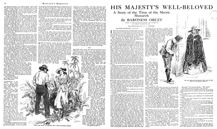 Article Preview: HIS MAJESTY'S WELL-BELOVED, December 1919 | Maclean's