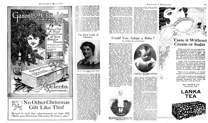 Article Preview: Could You Adopt a Baby ?, December 1919 | Maclean's