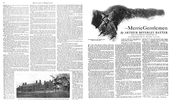 Article Preview: Merrie Gentlemen, December 1919 | Maclean's