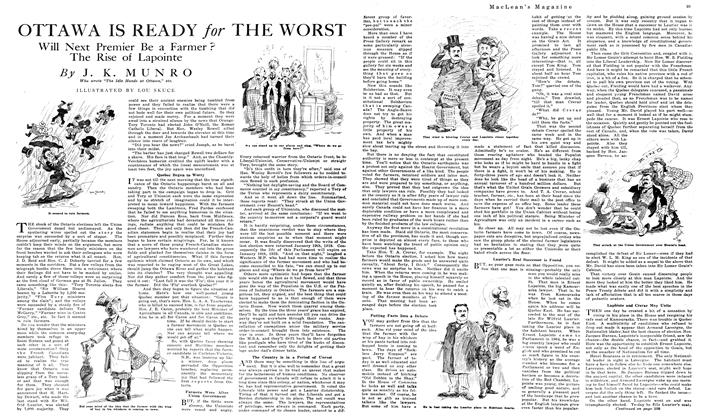 Article Preview: OTTAWA IS READY for THE WORST, December 1919 | Maclean's