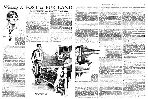 Article Preview: Winning A POST in FUR LAND, January 1920 | Maclean's