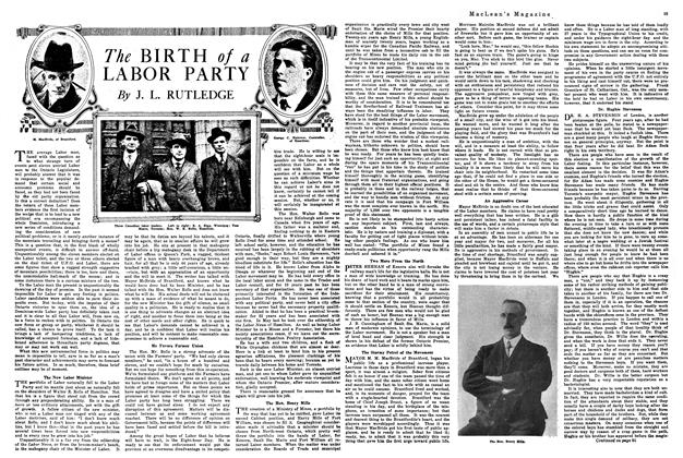 Article Preview: The BIRTH of a LABOR PARTY, January 1920 | Maclean's