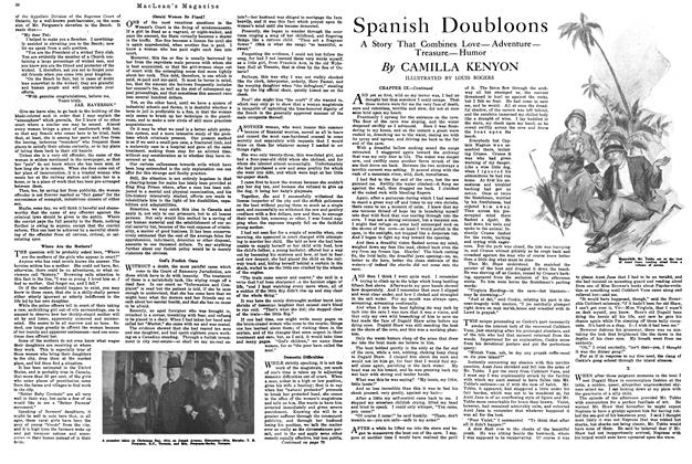 Article Preview: Spanish Doubloons, January 1920 | Maclean's