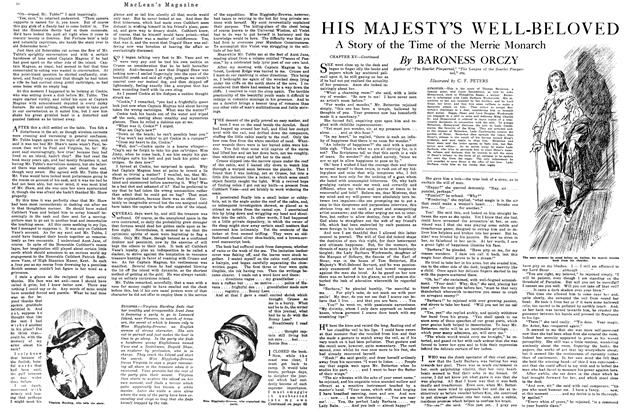 Article Preview: HIS MAJESTY'S WELL-BELOVED, January 1920 | Maclean's