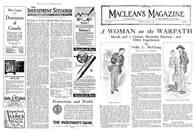 Article Preview: A WOMAN on the WARPATH, January 1920 | Maclean's