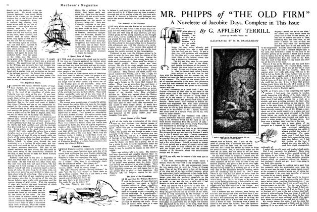 "Article Preview: MR. PHIPPS of ""THE OLD FIRM"", February 1920 