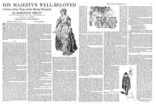 Article Preview: HIS MAJESTY'S WELL-BELOVED, February 1920 | Maclean's