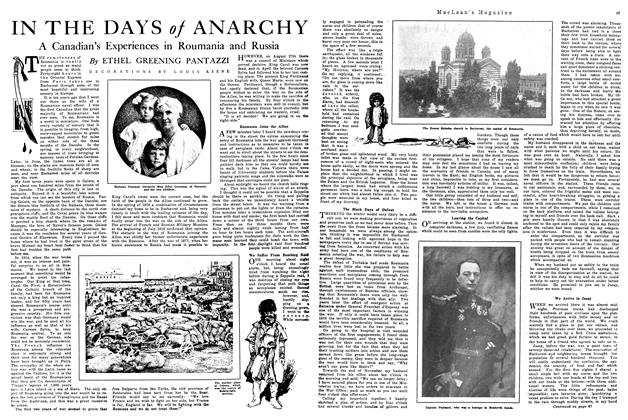 Article Preview: IN THE DAYS of ANARCHY, February 1920 | Maclean's